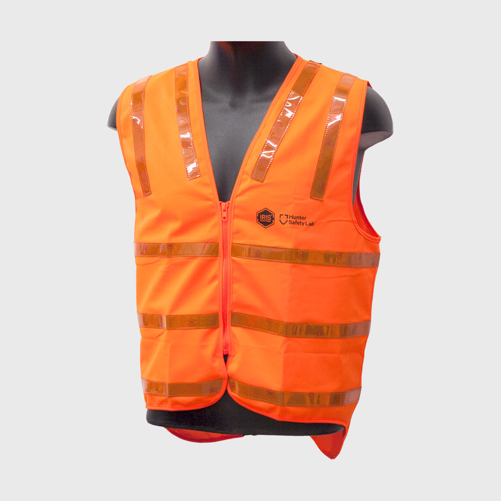 IRIS-Detectable Vest Orange